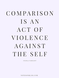 The Comparison Game by Torrie Singletary